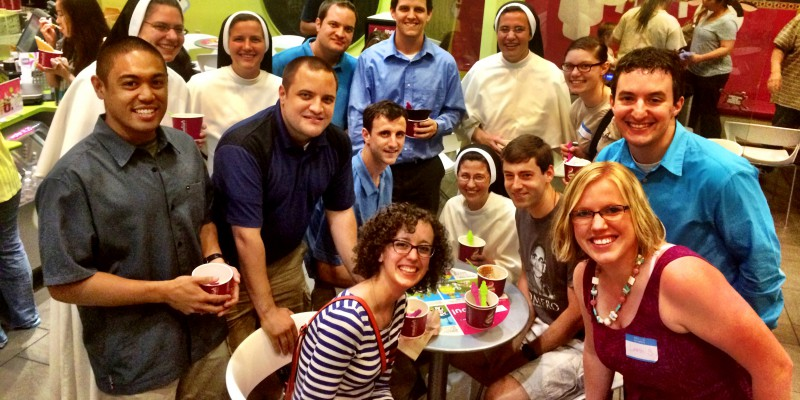 Young adult catholic dating
